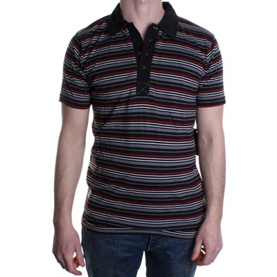 Bleeder S/S Knit Polo Shirt - Black