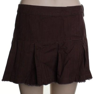 Peace Off Girls Skirt - Brown