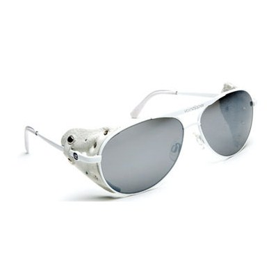 Fernstein Yeti/White Grey Chrome Sunglasses