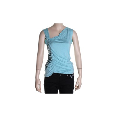 Rockabilly Tank Top - Turquoise