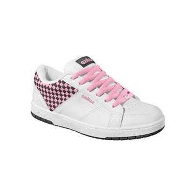 Post White/Black/Pink Weave Womens Shoe