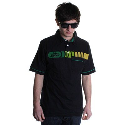 Kramer S/S Polo Shirt - Black
