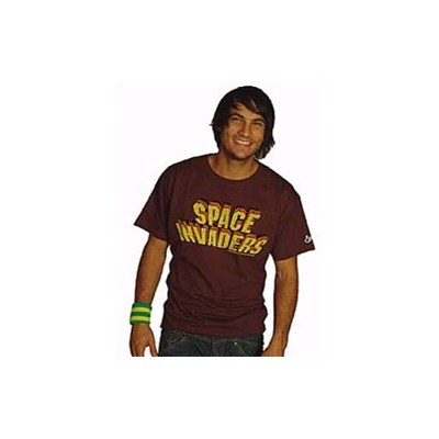 Space Invaders Logo Classic S/S T-Shirt