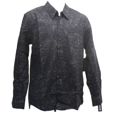 Shimmy L/S Woven Shirt - Black