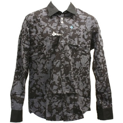 Stealth Stripe L/S Woven Shirt