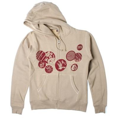 Buttons Basic Zip Hoody
