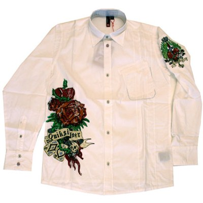 Twisty L/S Shirt - White