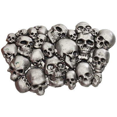 Pile of Skulls Buckle