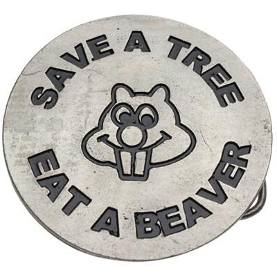 Save a Tree Buckle