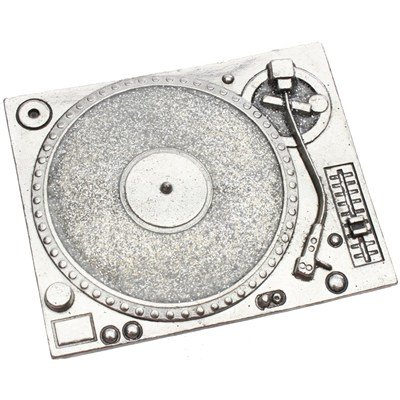 Turntable Bling Buckle