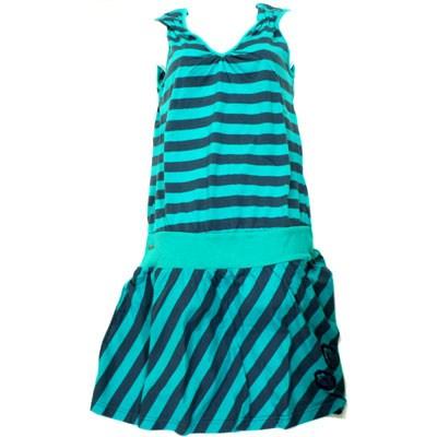 Madonna Orion Blue Striped Dress