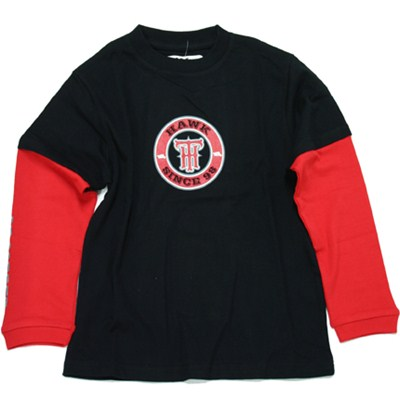 Super Hero Youth Double Sleeve L/S T-Shirt