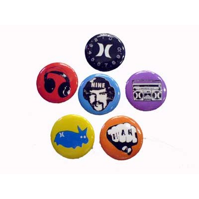 Hurley Badge Pack 2