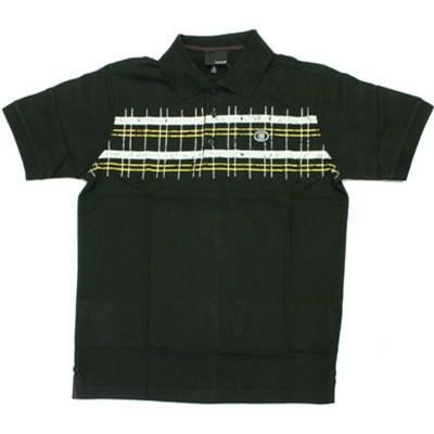 Half Life S/S Polo Shirt - Black