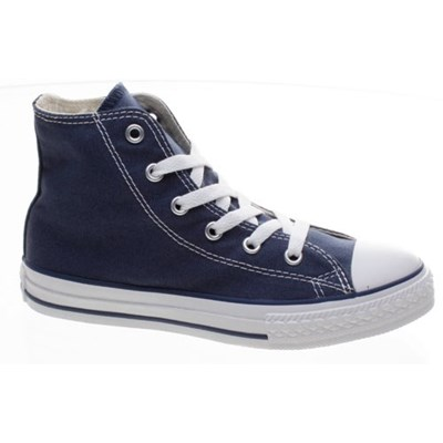 Image of All Star Hi Navy Kids Shoe 3J233