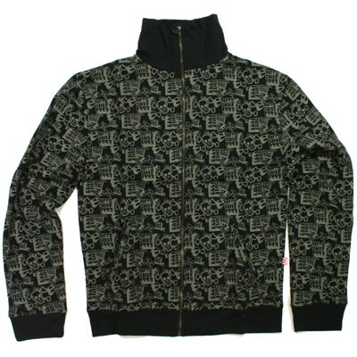 Bones Blocks Zip Hoody