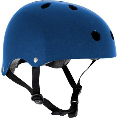 Essentials Metallic Blue Helmet