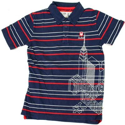 Empire Wrap S/S Polo Shirt