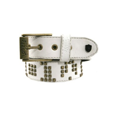 Void White/Gold Belt