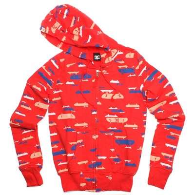 Means Lipstick Red Girls Zip Hoody