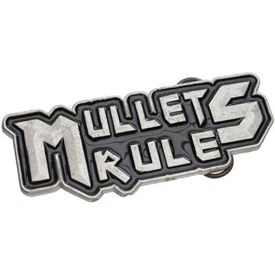 Mullets Rule Buckle