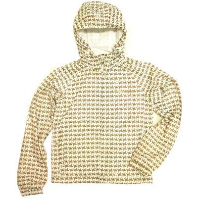 Almond White Dogtooth Jacket