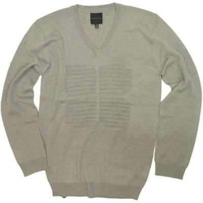 Moth Eaten Knit Sweater