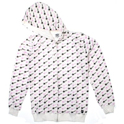 Star Logo All-Over Zip Hoody
