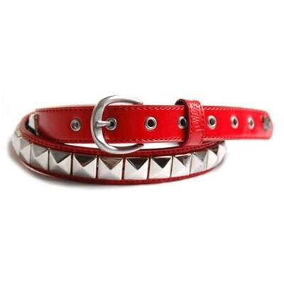 Single Blood/Silver Belt