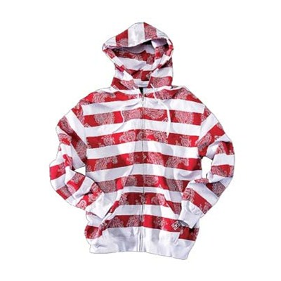 Stripes-A-Lot Zip Hoody