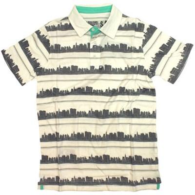 City Stripe S/S Polo Shirt