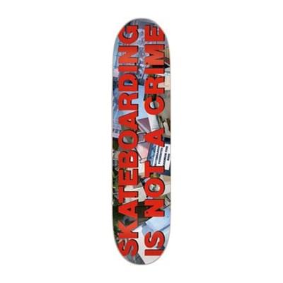 Skateboarding is not a Crime 'Stopper' Skateboard Deck