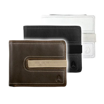 Business Class Big Bill Strap Bifold Wallet