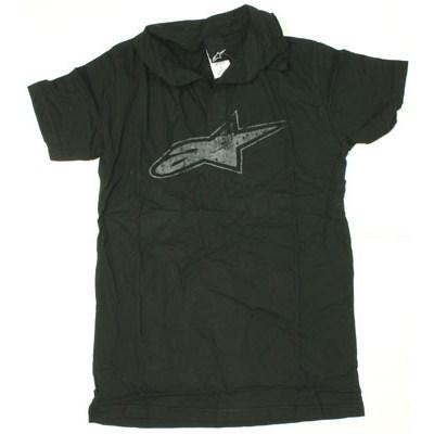 Black S/S Polo Shirt