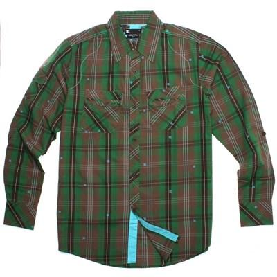 B.Y.O.B Green L/S Shirt