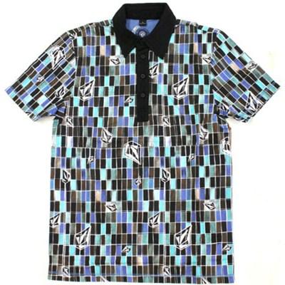 Tiled S/S Polo Shirt
