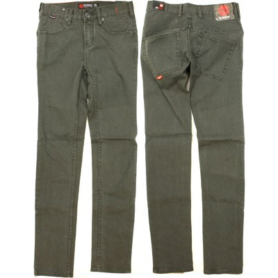 Scene Blk and Grey Grey Wash Jeans