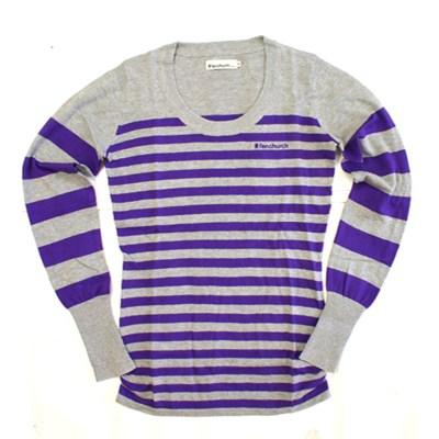 Lily Girls Striped Sweater