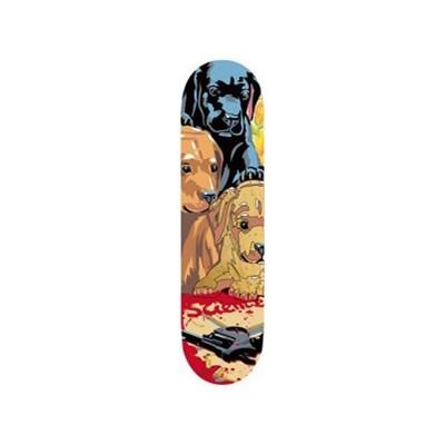 Dogs & Guns Skateboard Deck