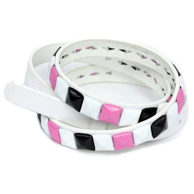 Bikini Belt - White/Black