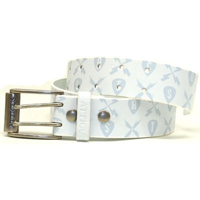 Trabendo White Leather Belt
