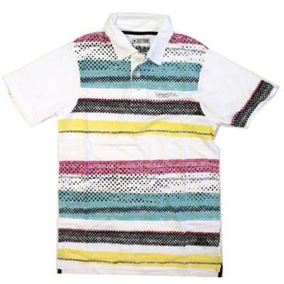 Marker Stripe S/S Polo Shirt