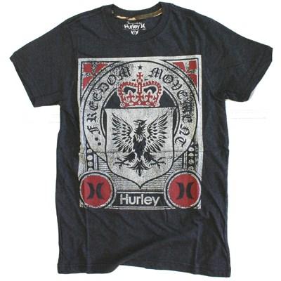Republic S/S Heather T-Shirt - Heather Black
