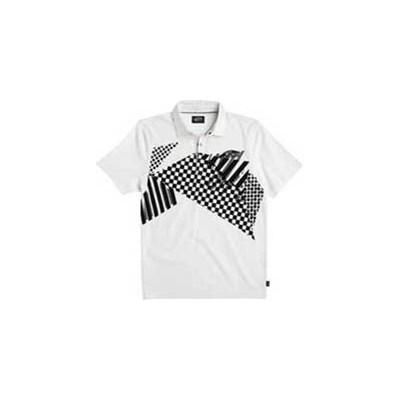 Checkstaposed S/S Polo Shirt - White