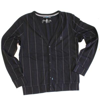 J-Lay Cardigan Shirt - Black