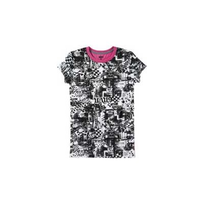 Mash Up Girls S/S Tee - Wild Orchid