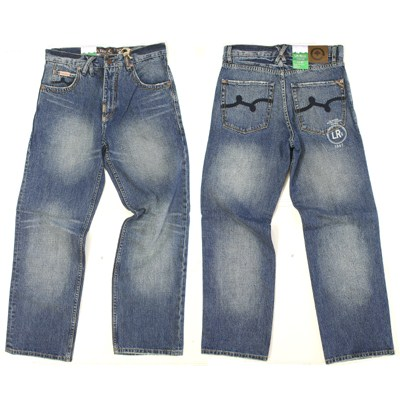 Steeplechase with Grace Classic 47 Fit Medium Blue Wash Jean