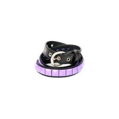 Single Black/Violet Belt