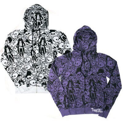 Day of the Dead Zip Hoody