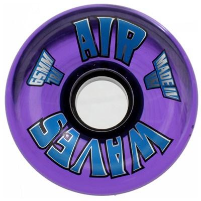 65mm Clear Quad Roller Skate Wheels